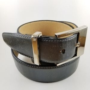 Italian calfskin leather dressy belt